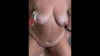 Blew a load on some fat tits