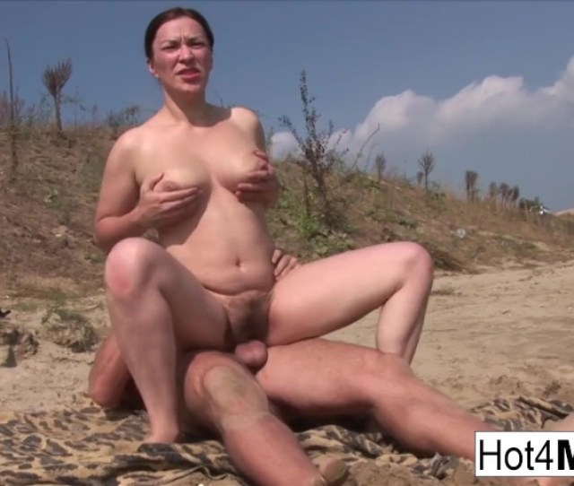 Busty Milf With Natural Tits Fucks On The Beach Free Porn Videos Youporn