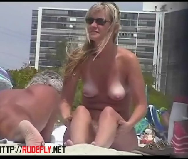 Beach Voyeur Porn Featuring Two Hot Girls And A Guy Sunbathing Naked Free Porn Videos Youporn
