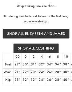 Elizabeth and james dresses nwt reeves dress also poshmark rh