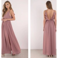 Tobi Dresses | Zeze Mauve Bridesmaid Dress | Poshmark
