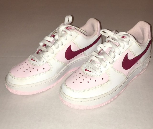 Nike Air Force One Valentines Edition Size 5y 6w