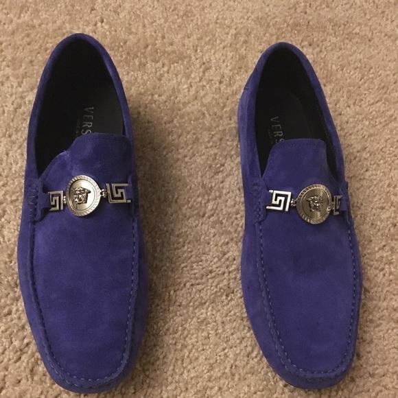 men s purple versace