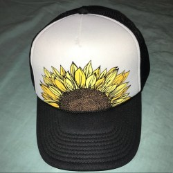 f457cfa5 O'neill Accessories Oneill Sunflower Trucker Mesh Back Hat New