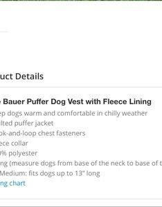 Eddie bauer jackets  coats euc dog puffer vest  fleece also rh poshmark