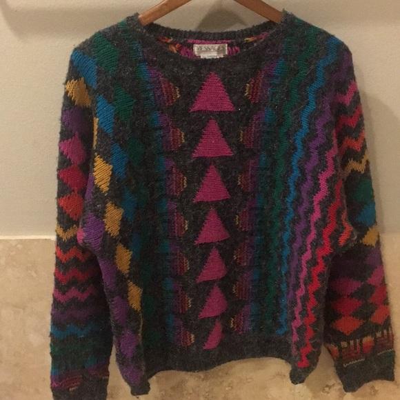 sick vintage sweater 80