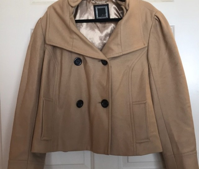 Sale Today  E7 97 A2 Old Navy Cropped Pea Coat With Hood