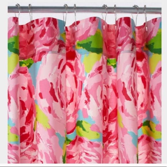 garnet hill lilly pulitzer shower curtain