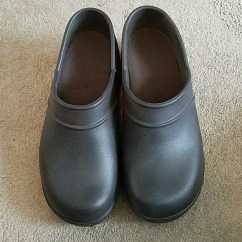 Shoes For Work In The Kitchen White Backsplash Crocs On Clock Clogs 10 Poshmark
