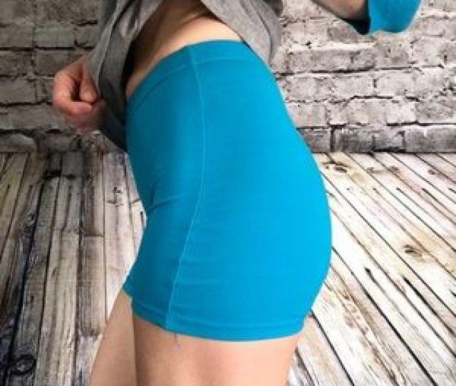 Ef B Fpanther Spandex Booty Shorts Size Medium