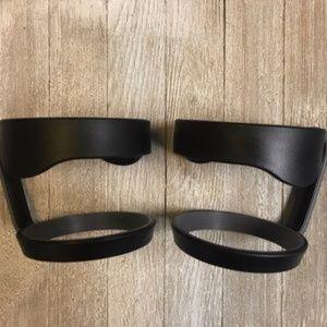 yeti chair accessories dining slip covers 2x black 30oz thermos mug handle 2 piece poshmark