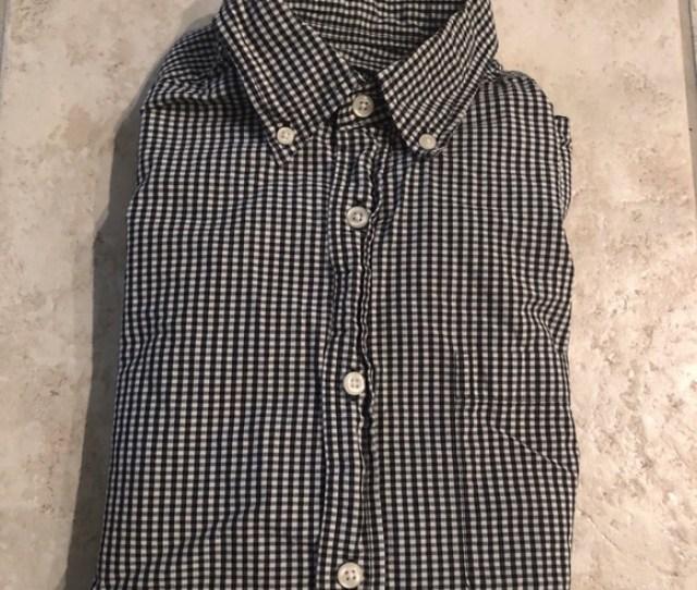 Tricots St Raphael Mens Gingham Dress Shirt