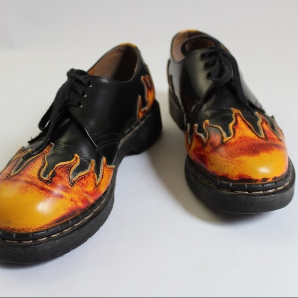 black doc martens with