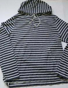 crew french terry fleece hoodie blue stripe  also shirts rh poshmark