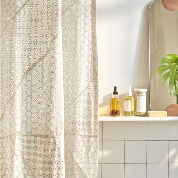 urban outfitters boho shower curtain