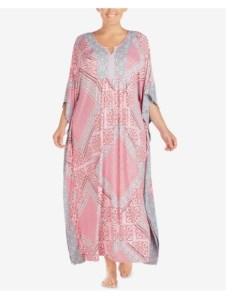 Ellen tracy printed caftan night gown  nwt also intimates  sleepwear rh poshmark