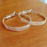 Unbranded Jewelry | 14 Karat Gold Hoop Earrings | Poshmark