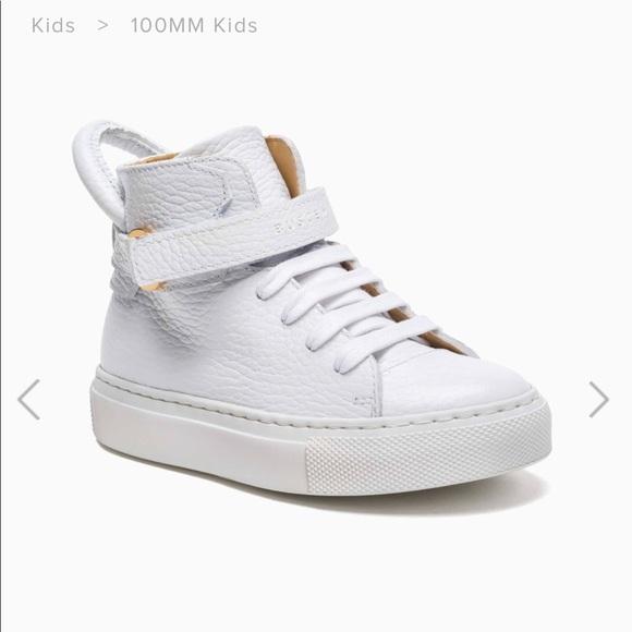 buscemi kids 100mm sneakers