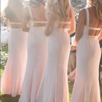 Vera Wang Dresses | Davids Bridal Bridesmaid Dress Blush ...