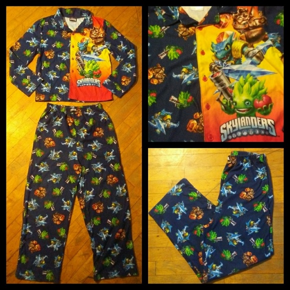 boys skylanders pajama set