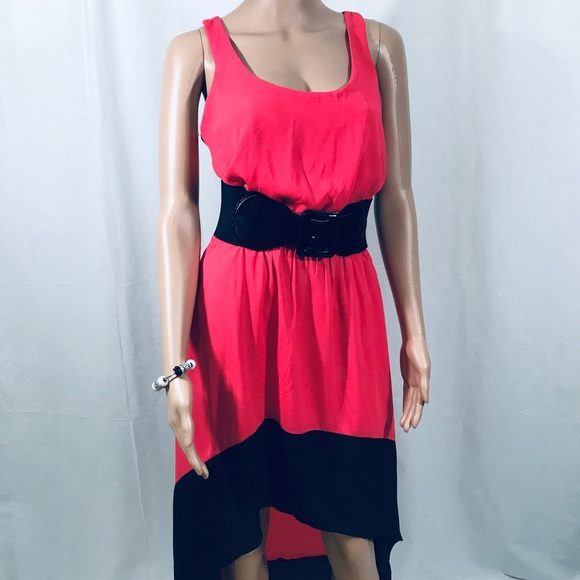 sundress red and black