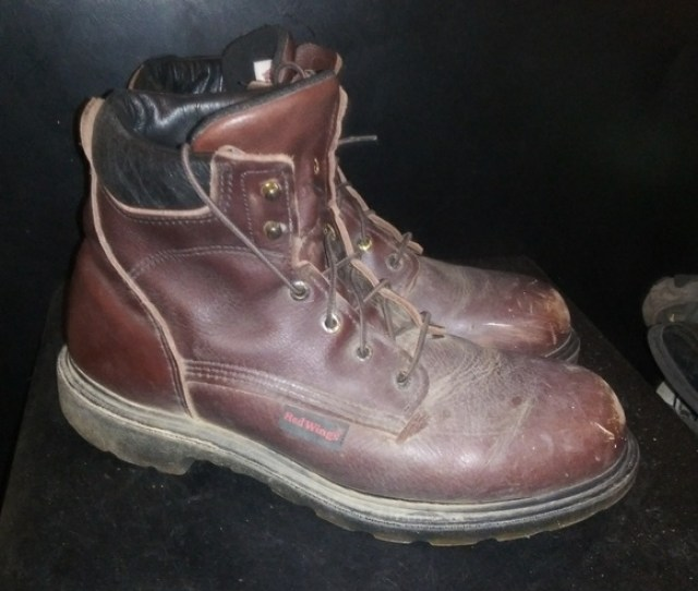 Red Wing Boots Steel Toe Sz