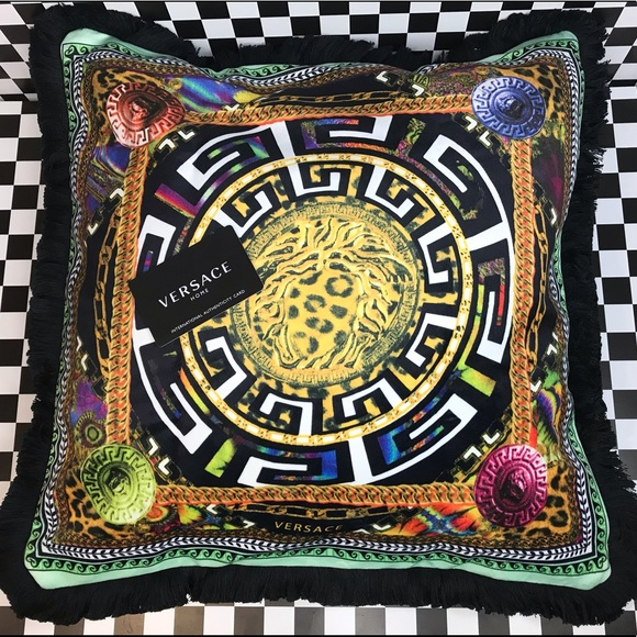 versace pillow case gorgeous new sold out case
