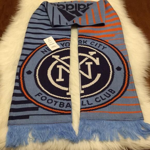 nwt adidas nycfc scarf