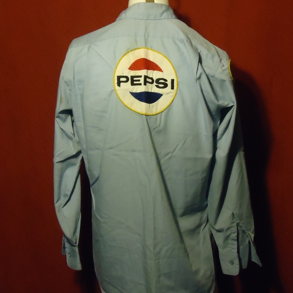 pepsi delivery shirt w
