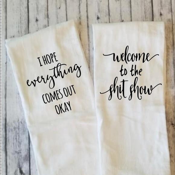 Bath Funny Room Hand Towels Poshmark