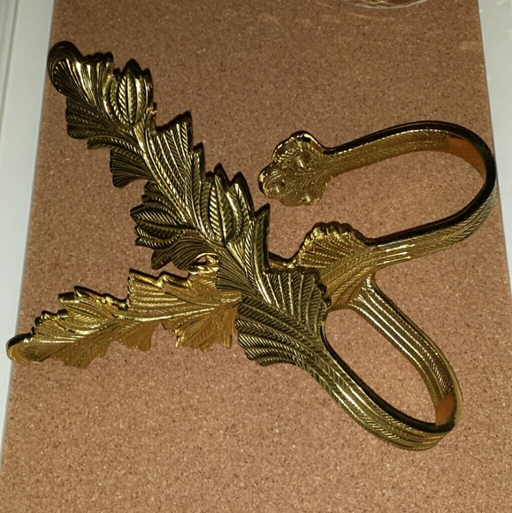 vintage heavy brass curtain tie backs