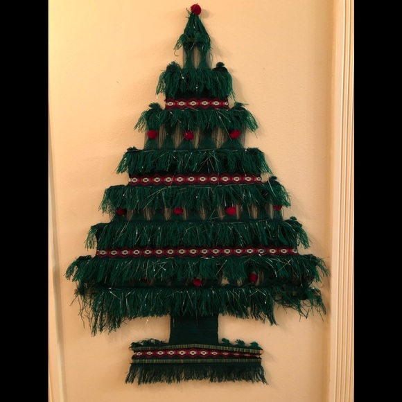 None Holiday Space Saving Christmas Tree Poshmark