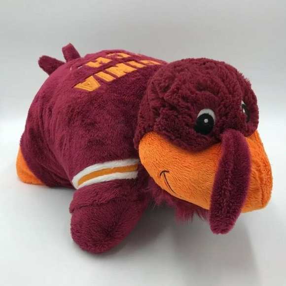 virginia tech hokies pillow pets plush hokie bird