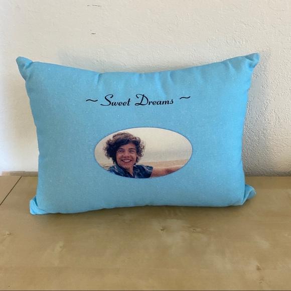 nwot harry styles sweet dreams pillow