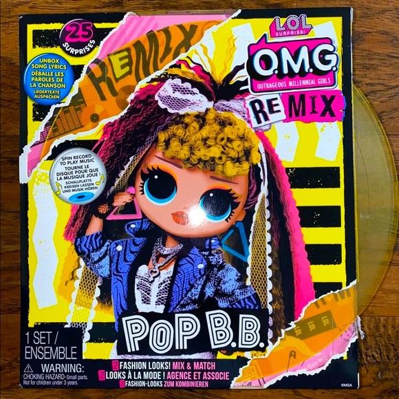 l o l surprise omg remix pop b b fashion doll