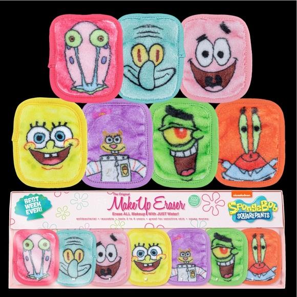 Makeup Eraser Skincare Nib Spongebob