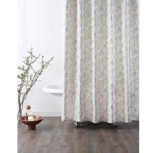 fairfax taupe shower curtain