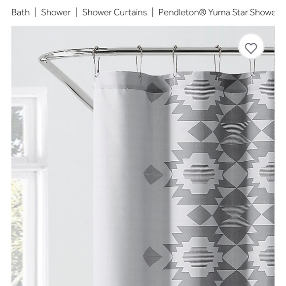 pendleton yuma shower curran new in bag
