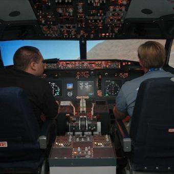boeing flight simulator experience