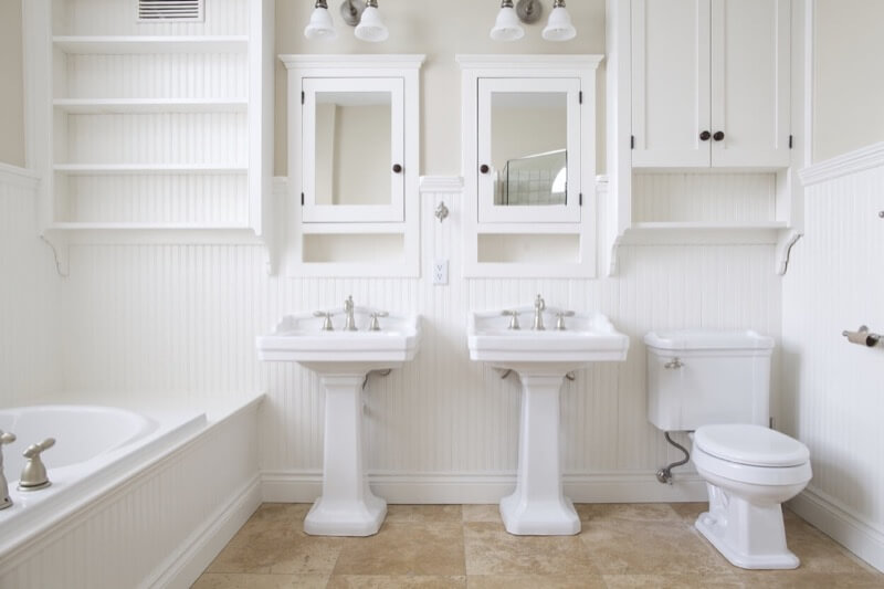 The Comeback Of The Pedestal Sink Thebathoutlet Com