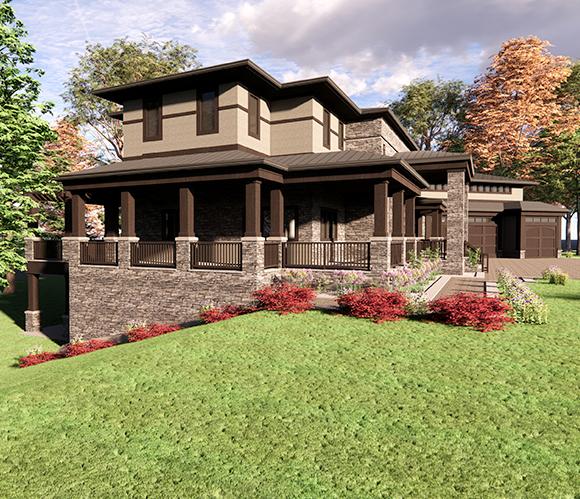 Craftsman Inspired Residence (2)