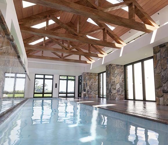 Lavish Indoor Pool House (2)