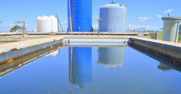 Água não é mais retirada de lagoa em Itapemirim