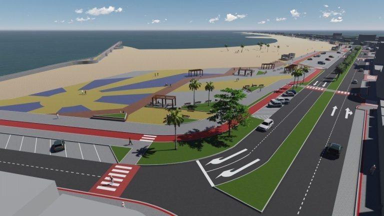 Autorizada nesta sexta a revitalização da Praia Central em Marataízes