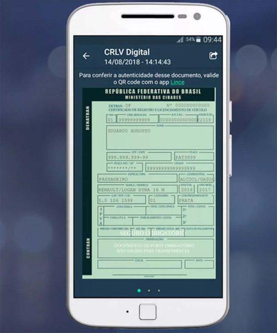 Motoristas já podem circular no ES com documento do carro no celular – veja como