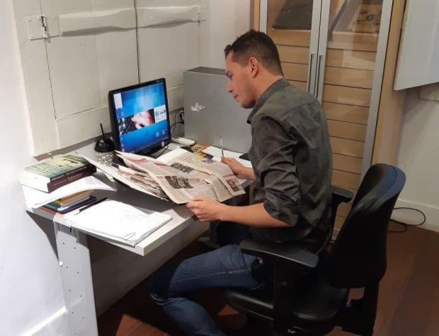 Jornalista mergulha no acervo da Casa dos Braga para doutorado na França