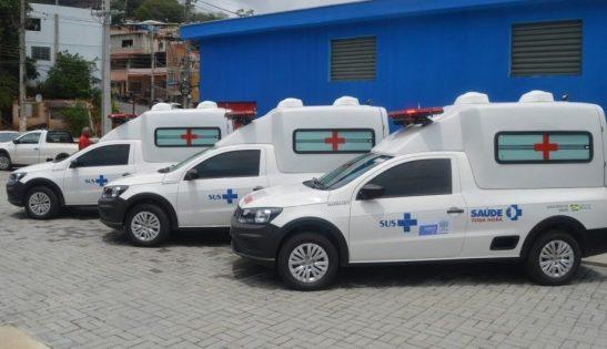 Postos de saúde e ambulâncias são entregues no interior de Cachoeiro