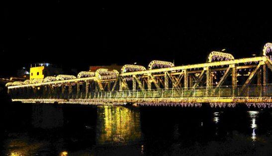 Cachoeiro terá queima de fogos na Ponte de Ferro na virada do ano