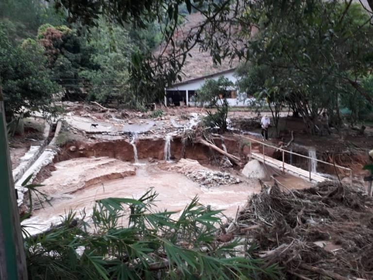 Chuva causa prejuízo superior a R$ 22 milhões em Vargem Alta