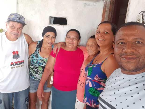 Família se reencontra após meio século em Cachoeiro
